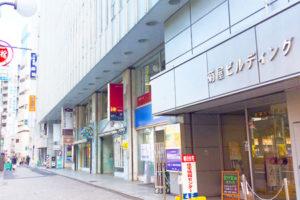 立川おりおんは菊屋ビルディングの5階です